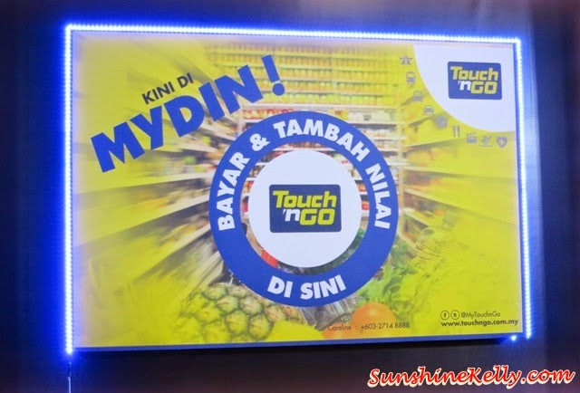 Touch N Go Now at Mydin, Touch N Go, Mydin Mall, Mydin,