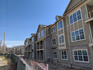 The Dean Ave apartment complex was used as an example in the inclusionary zoning bylaw material