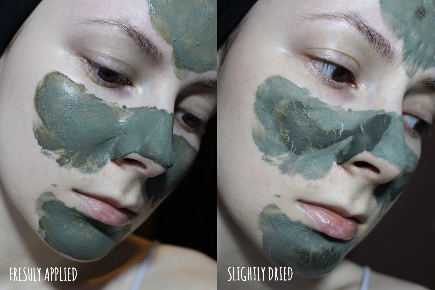green french clay powder mask