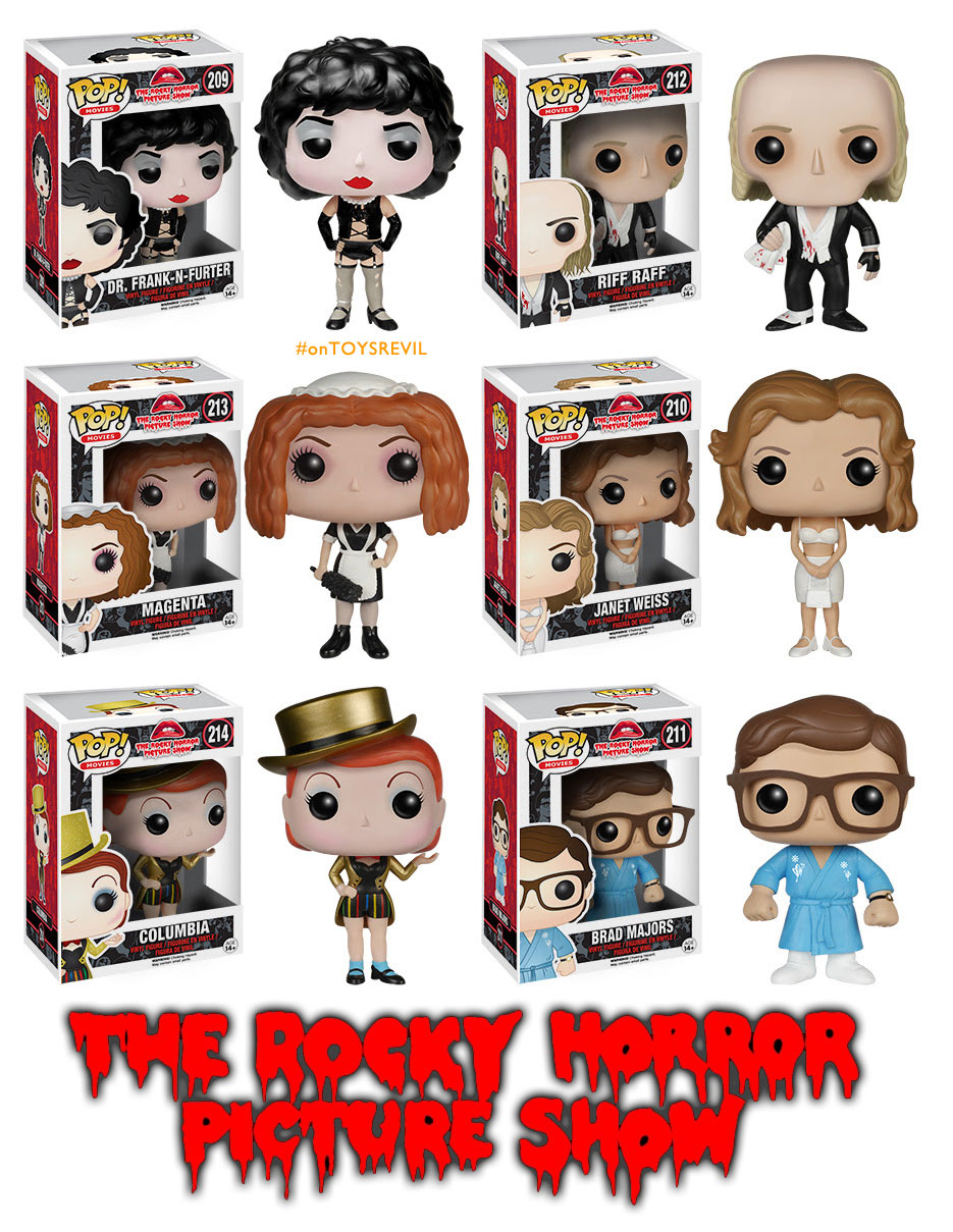 Pop Movies Rocky Horror Picture Show From Funko