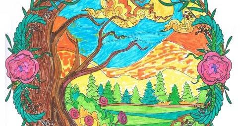 ausmalbücher für erwachsene: landschaften - zum ausmalen und relaxen - band 2