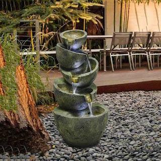 Floor water fountain