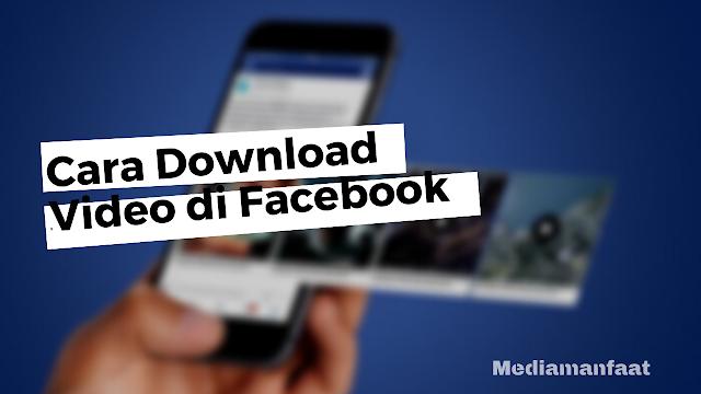 Cara Download Video dari Facebook Lite Tanpa Aplikasi Tambahan