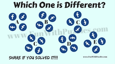 Odd One Out Facebook brain teaser