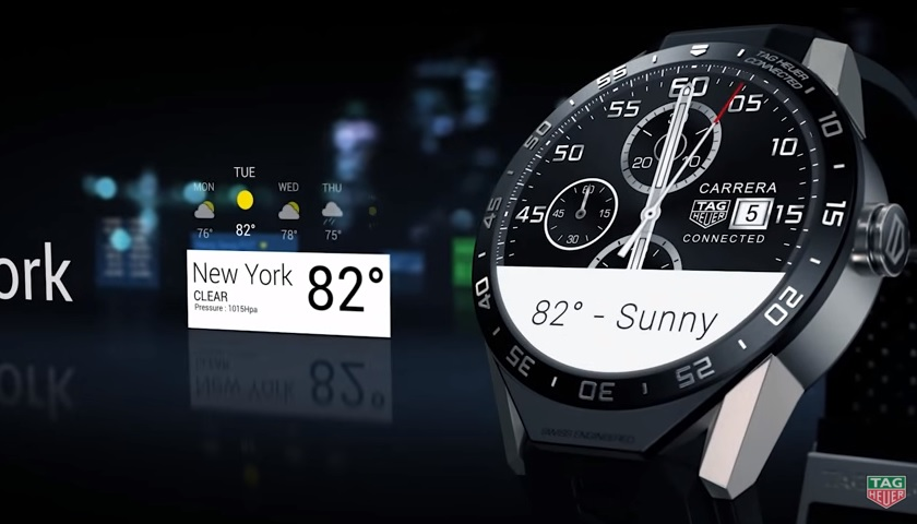 7e18086745c TAG Heuer entra nos smartwatches com o Connected