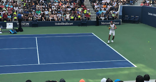 US Open 2018: Rafael Nadal in Practice to Defend Open Chamionship Title