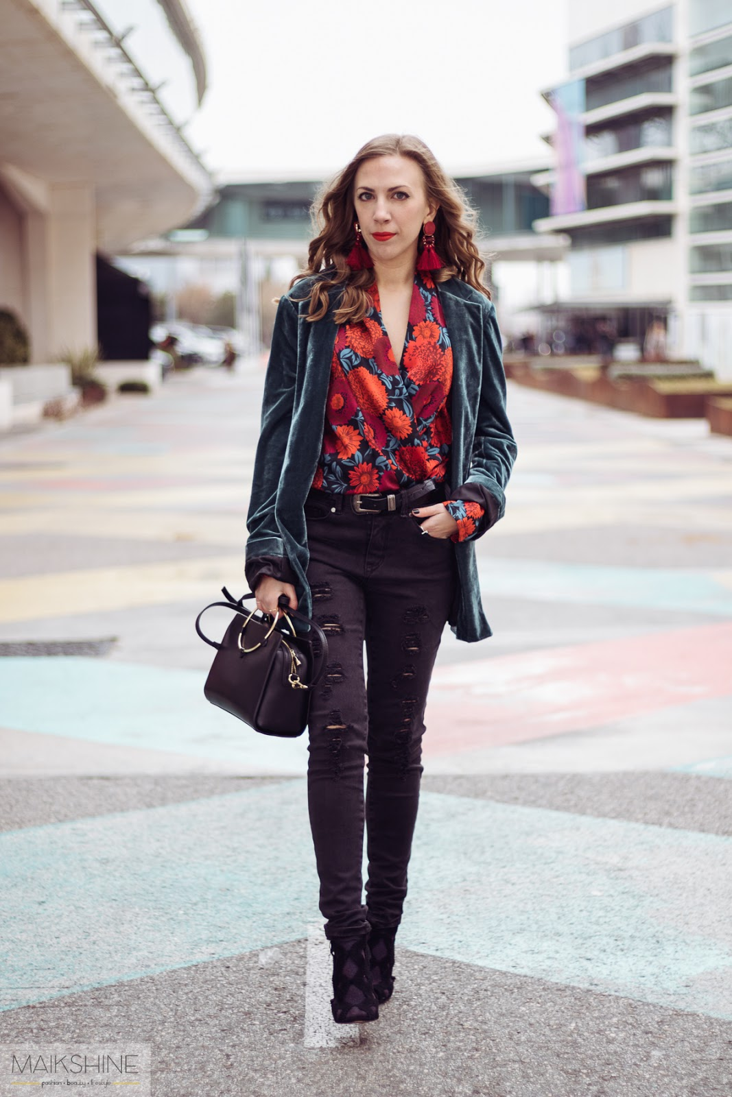 Outfit • Madrid Fashion Week | Velvet & jeans
