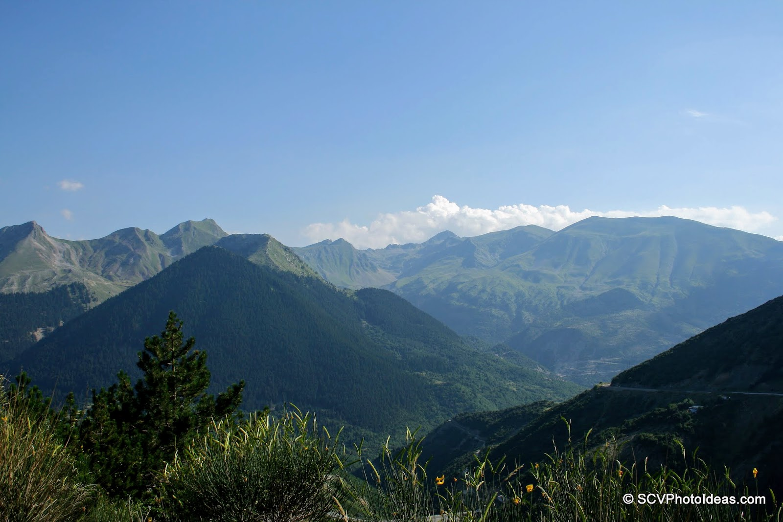 Pindus mountain range view II