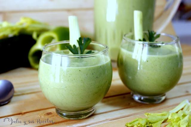 Gazpacho verde. Julia y sus recetas