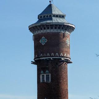Стрый. Львовская обл. Водонапорная башня на железнодорожной станции