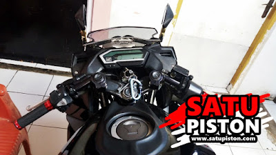 Pasang Stang Jepit Bpro Pada Honda CBR 150