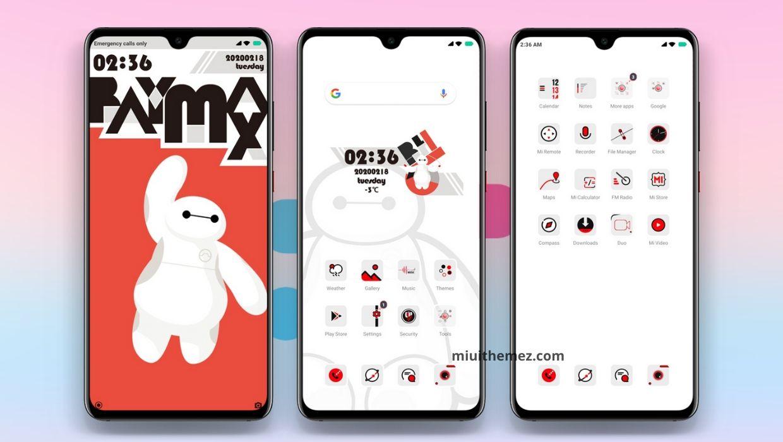 Baymax v11 MIUI Theme