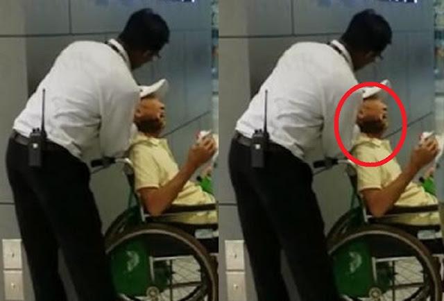 Kakek 90 Tahun Berkursi Roda Ini Digigit Pria Tak Dikenal Sampai Berdarah! Netizen Menduga-Duga, Ngeri !!
