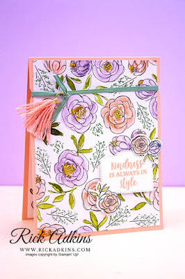 Dressed to Impress, Stampin' Up!, Rick Adkins