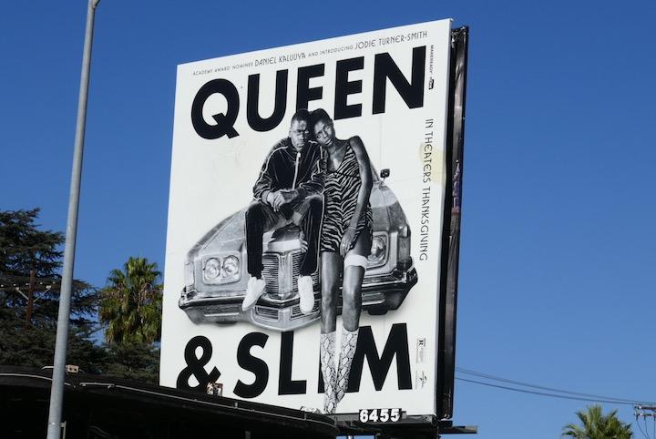 Queen and Slim movie billboard