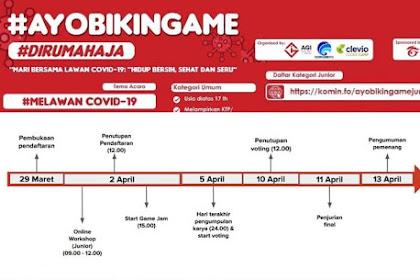 Dukung Hidup Bersih dan Sehat #DiRumahAja,   Kominfo Gandeng AGI dan Clevio Gelar Ajang Cipta Game