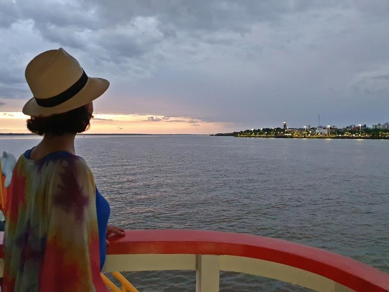Passeio de barco Belém Docas