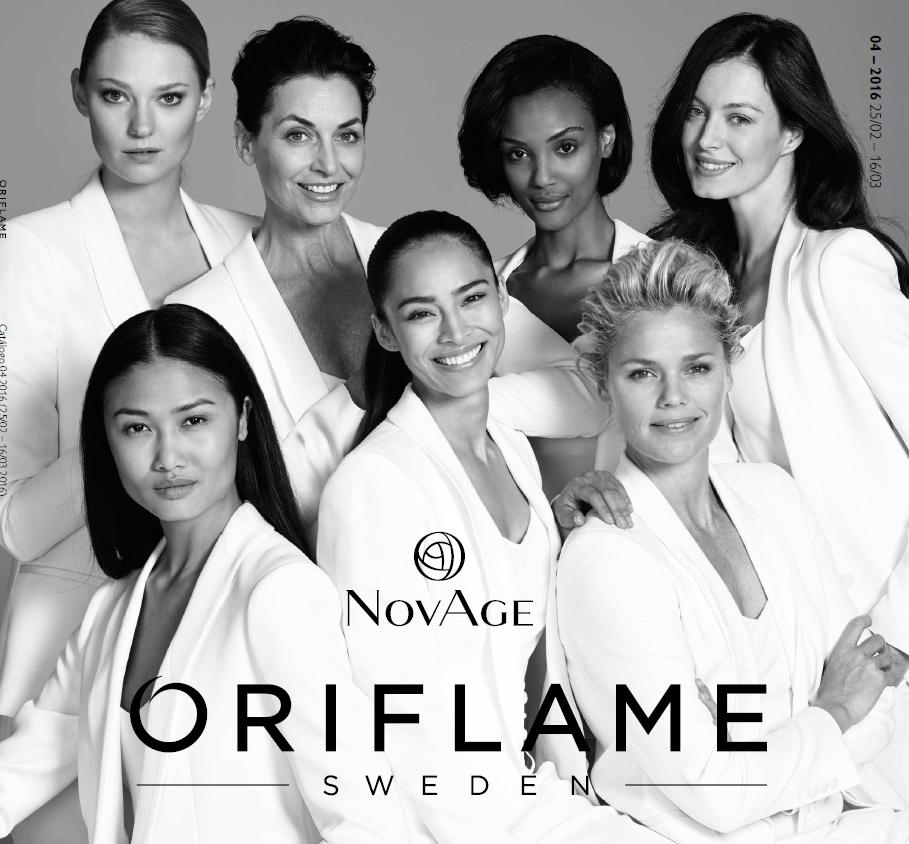 Catálogo 04 de 2016 da Oriflame