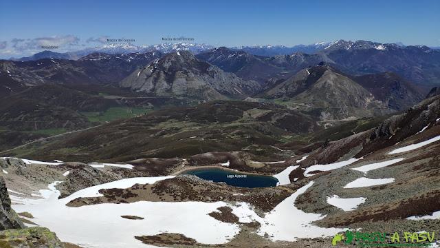Lago Ausente desde la Peña Ausente