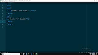teks editor Atom dipergunakan untuk membuat laman web pada browser