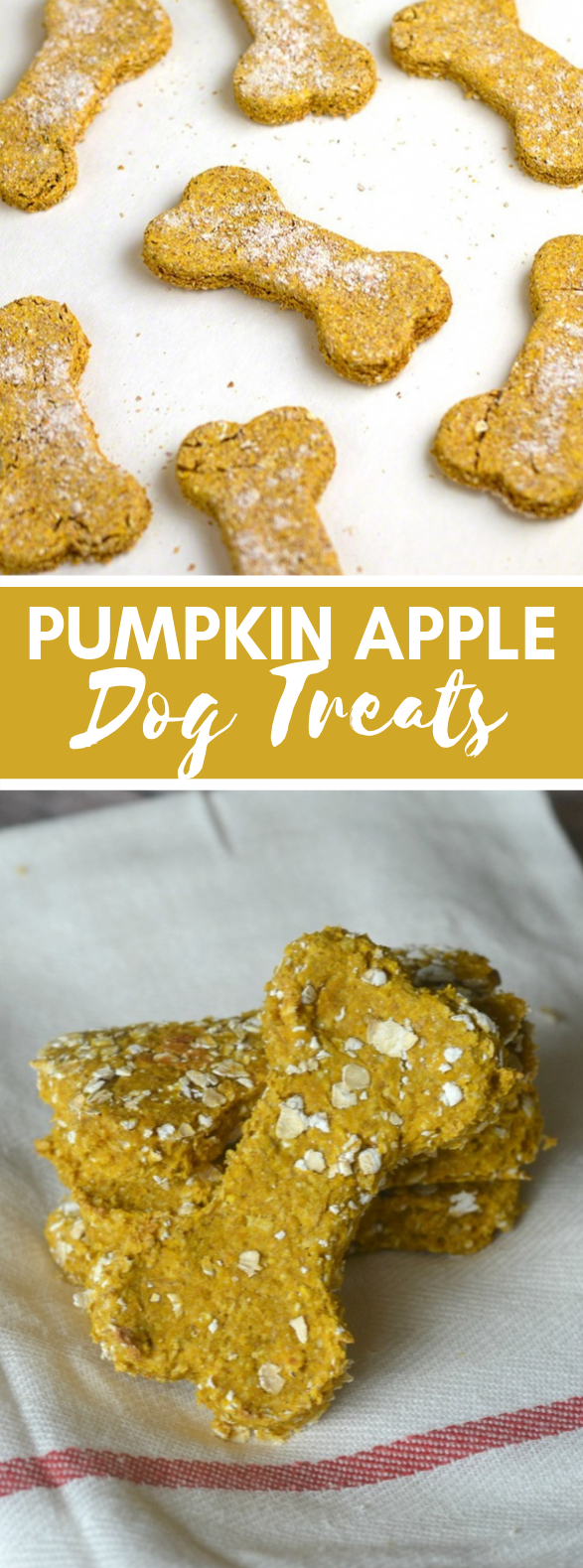 Pumpkin Apple Dog Treats #desserts #fallrecipes