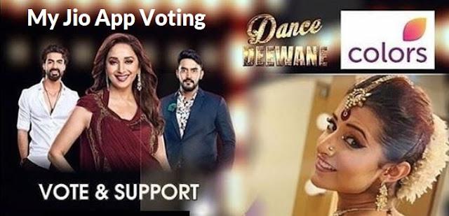 dance deewane 2 vote my jio app