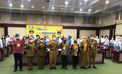 Pemprov Lampung Gelar Audisi Peserta Paduan Suara Gita Bahana Nusantara Tingkat Provinsi Lampung Tahun 2021