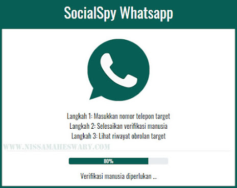 Cara sadap WA dengan SocialSpy whatsapp terbaru 2021