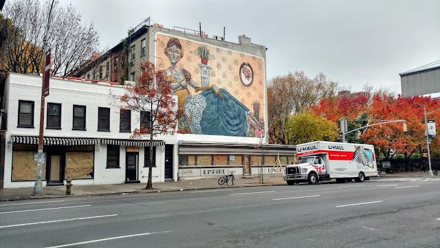 Мурал Піксел Панчо, Челсі, Нью-Йорк (Pixel Pancho Mural, Chelsea, NYC)