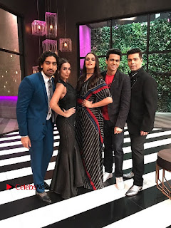 Bollywood Actress Neha Dhupia Stills at Koffee with Karan  0003.jpg