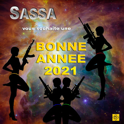 SASSA auteur de polar d'espionnage voeux 2021