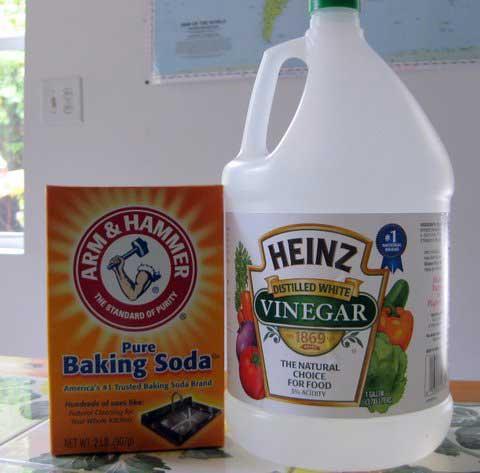 Baking soda to soften the laundry