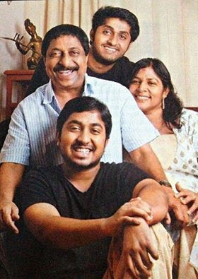 Dhyan Sreenivasan Family