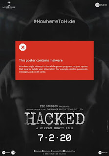Hacked First Look Poster 1