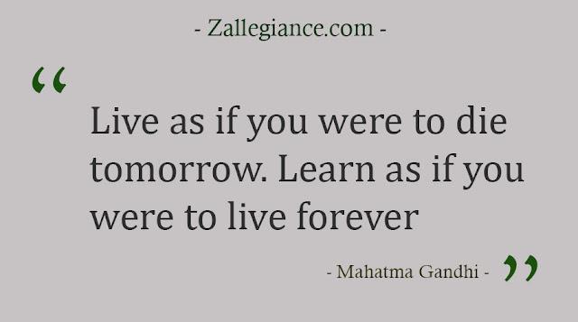 Top 21 Kutipan Bijak Mahatma Gandhi Yang Penuh Inspirasi