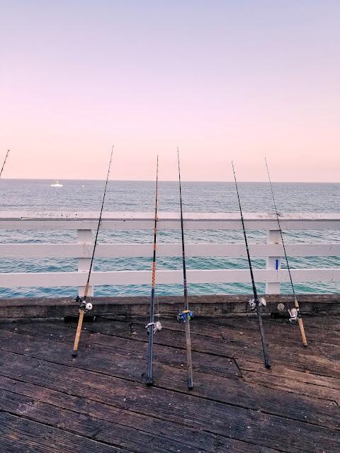 Photo by Gen Dalton on Unsplash sea fishing rods on pier