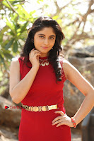 Telugu Actress Zahida Sam Latest Pos in Red Gown at RF Films New Movie Opening  0167.JPG