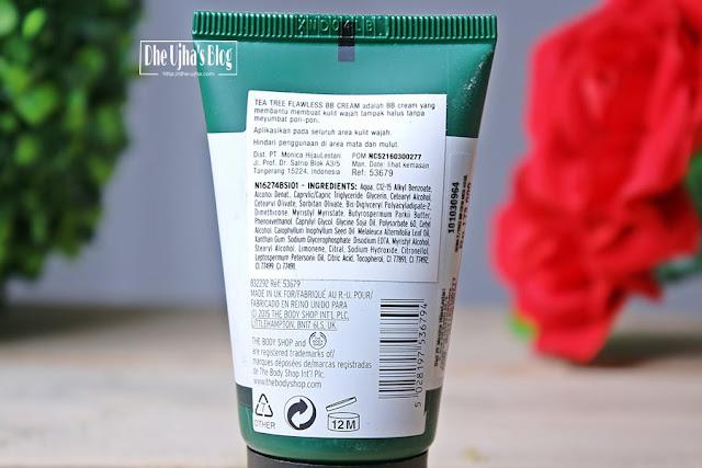 The Body Shop Tea Tree Flawless BB Cream 02 Medium