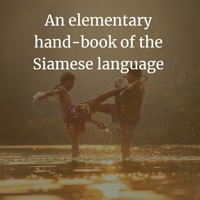 elementary handbook of the Siamese Thai language PDF