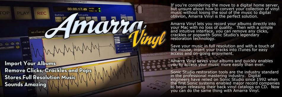 True Audiophile: Biggest Amarra Vinyl Sale EVER! $190 OFF
