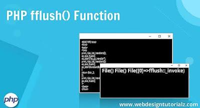 PHP fflush() Function