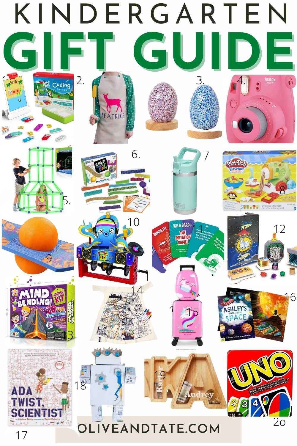The Best Gifts for Kindergarteners
