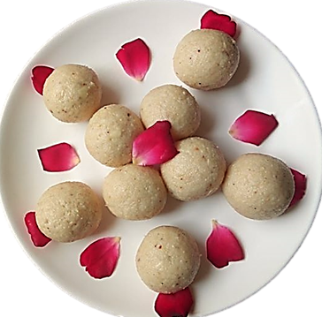 Peanut Coconut Laddu Gaurivrat Recipe