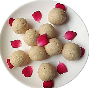 मूंगफली नारियल लड्डू (गौरीव्रत रेसिपी)