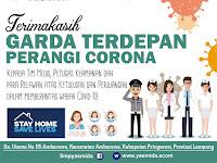 Desain Ucapan Terimakasih Garda Terdepan Perangi Corona Virus
