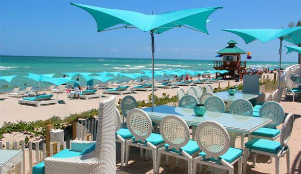 Bar e Restaurante Bella Beach Club em Miami