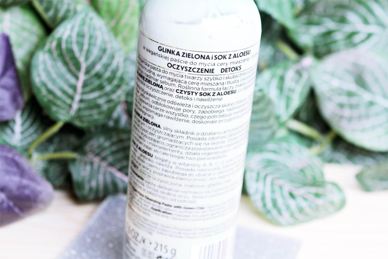 Bielenda Botanical Clays Pasta do mycia twarzy z glinką zieloną