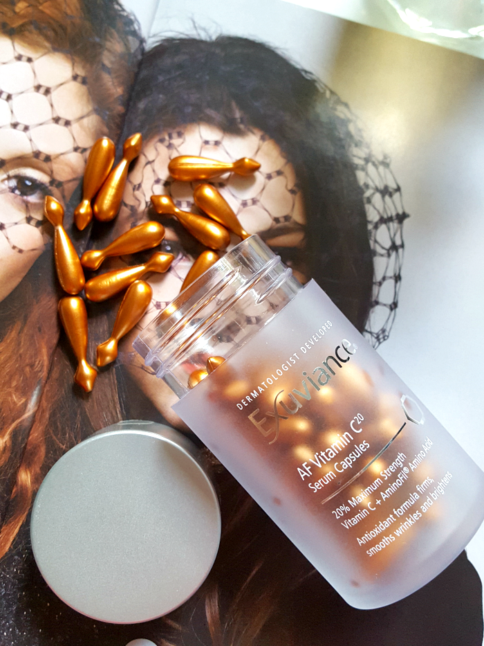 Review: Exuviance AF Vitamin C20 Serum Capsules & U.S. Giveaway 2