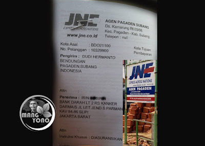 Pengiriman ke Jakarta Barat via JNE Agen Pagaden, Subang