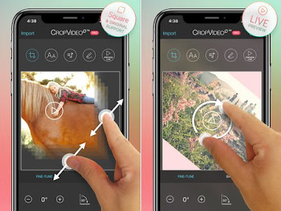 Aplikasi Crop Video di iPhone